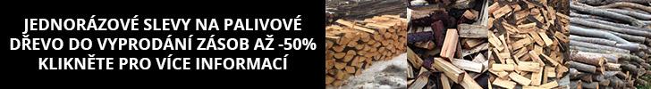 Dřevo na topení - akční nabídka